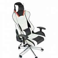 Офисное кресло Calviano PRO-GAME white/black SA-R-905